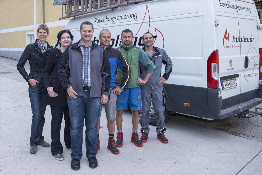 Team Aschbach Rauchfangsanierer